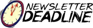 newsletter-deadline